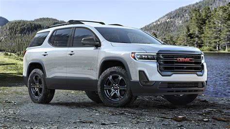 2020 Gmc At4 by 2020 Gmc Acadia Refresh Revealed With New Turbo 2 0l Engine