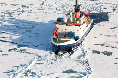 icebreakers set sail  multi national research expedition