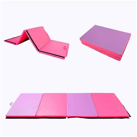 tumbling mats for 4 x6 x2 quot folding mat gymnastics exercise