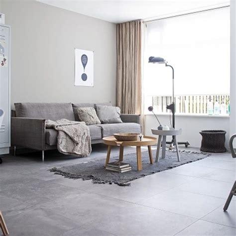 Modern Living Room Tile Flooring by Monochrome So Soothing Modern Douglas Jones Tiles Living