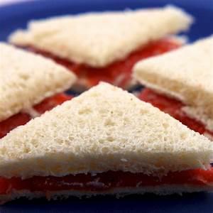 Salmon & Cream Cheese Tea Sandwiches Recipe