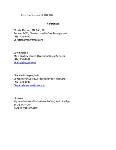 Attaching References To Resume by Judy Echols 2016 Resume References Attached