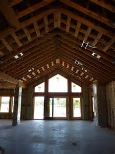 Wood Cathedral Ceilings with Beams