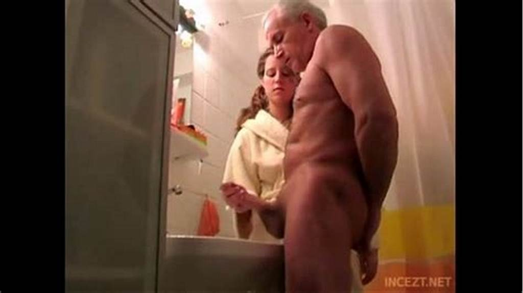 #Granddaughter #Help #Her #Grand #Father #Cum #Shoot