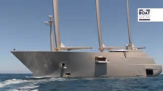 Largest Boat by Largest Sailing Yacht In The World Www Pixshark