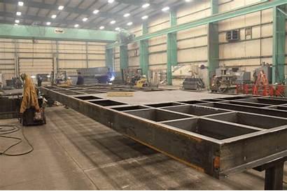 Steel Fabrication Platforms Heavy Simple Complex