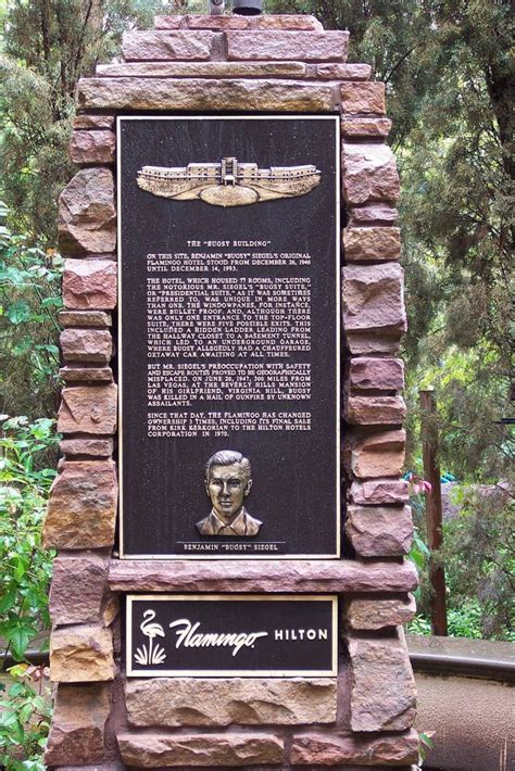 Panoramio - Photo of Bugsy Siegel memorial at the Flamingo