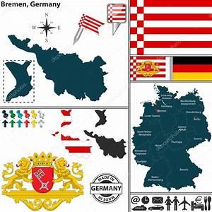Google Maps Bremen : mapa de bremen alemanha vetor de stock sateda 48759073 ~ Watch28wear.com Haus und Dekorationen