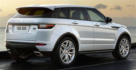 Range Rover Evoque My16 Por Los Terrenos Del éxito