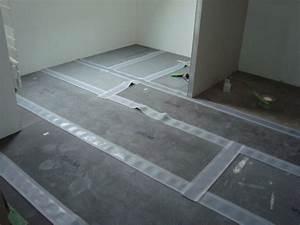 plaque wedi sol salle de bainjoints bienvenue chez nous With isolation sol salle de bain