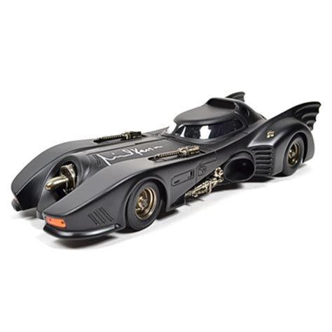 Original Batmobile Autographed By lot detail michael keaton autographed die cast 1 18