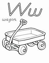 Wagon Coloring Train Pages Wheel Drawing Chuck Letter Getdrawings Getcolorings Printable sketch template