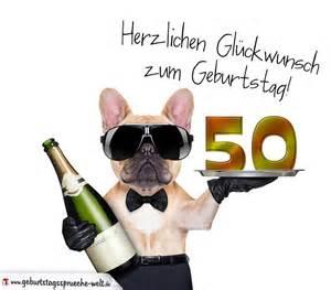50 geburtstag sprüche kurz glückwunschkarte mit hund zum 50 geburtstag geburtstagssprüche welt