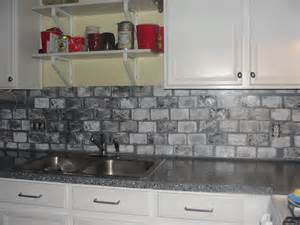 brick backsplashes for kitchens brick backsplash in the kitchen presented with