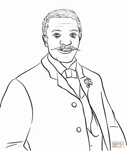 Coloring George Crum Famous Pages Printable History