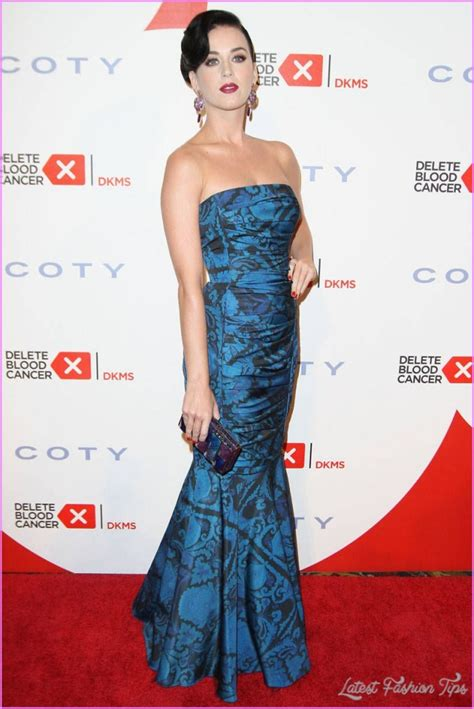 Katy Perry Red Carpet Dress