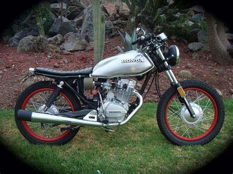Honda Cg125 Modified