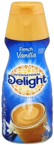 The brand already has over 20 creamer flavors, and many of international delight said in a statement. International Delight Gourmet, French Vanilla Coffee Creamer - 16 oz, Nutrition Information | Innit