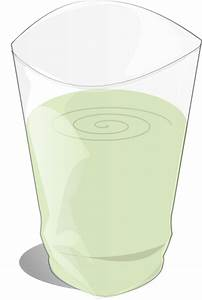 Glass Of Milk (large) Clip Art at Clker.com - vector clip ...