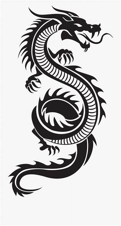 Chinese Clipart Dragon Silhouette Dragons Cliparts