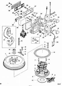 Mariner 48 Hp Ignition System Parts