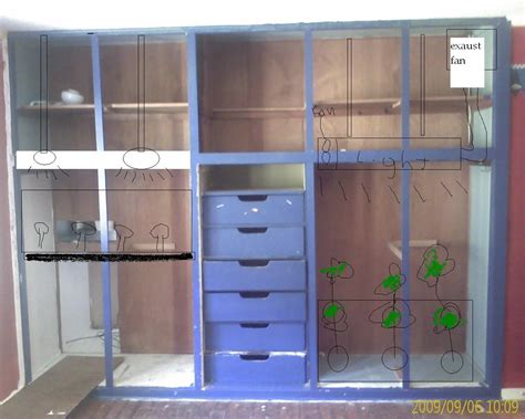 grow closet plans new grow room closet will it work cultivation
