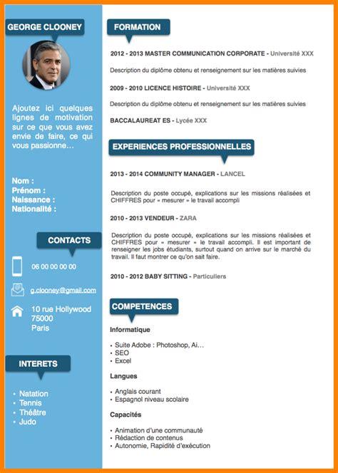 Cv Présentation Exemple by 10 Exemple De Cv Informatique Waynes Boro Country Club