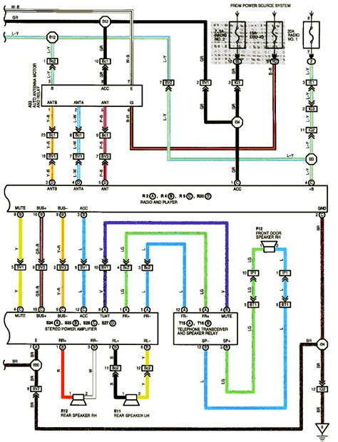 Audio System Wiring Diagram by Anyone Wiring Diagram For 99 Sc3 Premium Audio