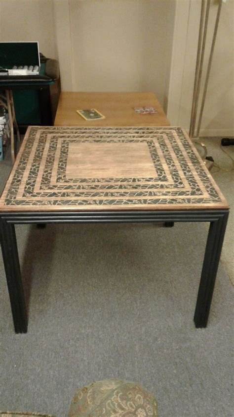 solid wood card table delmarva furniture consignment