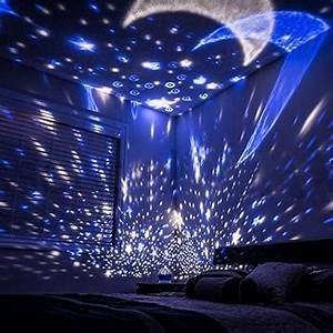 Solar Party String Lights Self Rotating Constellation Night Projector Lamp Bring