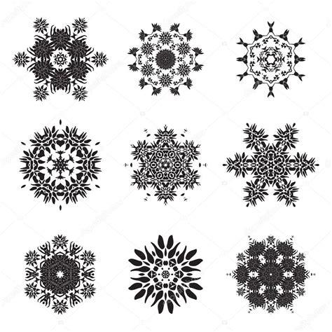 tatouage fleur mandala doodle dessins vectoriels image