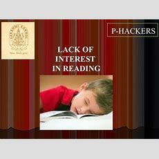 Poor Reading Skills