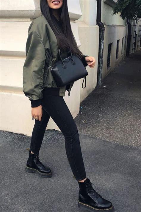 mode femme automnehiver avec  slim noir des