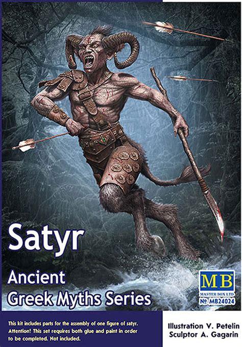 greek myths  satyr  scale  master box