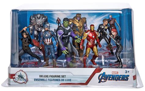 Marvel Avengers Endgame 9-Piece Deluxe PVC Figure Play Set ...