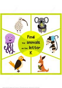 3 letter animals fresh 3 letter animals cover letter examples 20059   find 3 animals on the letter k puzzle game