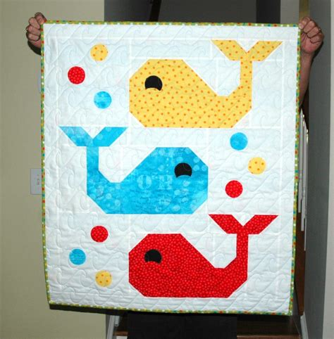 whale quilt pattern whale baby quilt