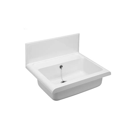 white plastic kitchen sinks plastic sink compact white msotrade 1449