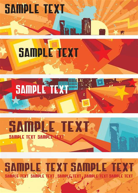 banner templates vector art graphics freevectorcom