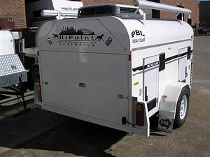 roof mounted air conditioner side awnings pbl trailers With air conditioned dog trailer