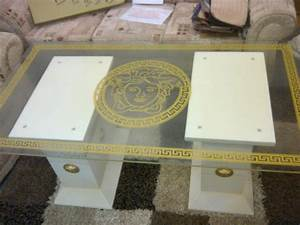 VERSACE MOTIF COFFEE TABLE Oldbury Dudley