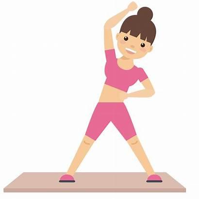 Clipart Exercising Exercise Leg Raises Transparent Clip