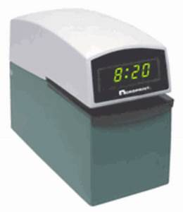 acroprint etc time date stamp With document time stamp machine