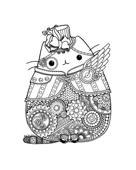 steunk pusheen pusheen cats mandalas pusheen and dibujos