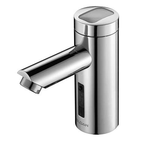 sensor operated flushers faucet sloan 3335016 chrome solar powered sensor activated electronic washing faucet for pre