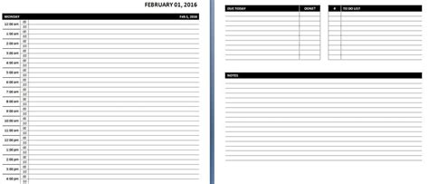 daily planner template word daily weekly ms word planner templates office templates