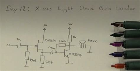 wiring diagram for string of christmas lights led how to find a faulty bulb in a lights string electrical engineering stack exchange