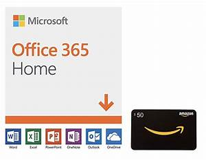 Awesome Deal: Microsoft Office 365 and $50 Amazon Gift ...
