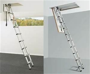 Echelle Escamotable Pour Grenier : echelles escaliers escamotables echelles fabricant passerelles marchepieds ~ Melissatoandfro.com Idées de Décoration
