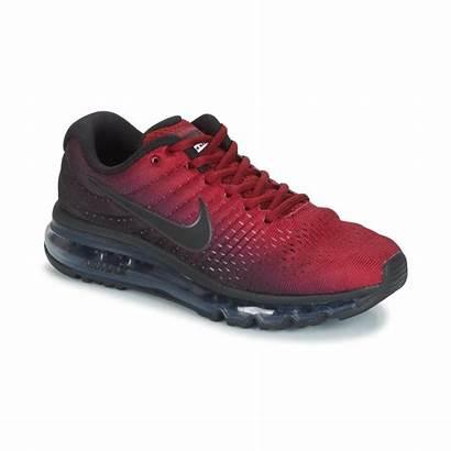 Nike Homme Air Rouge Chaussures Basket Noir